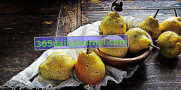 Pera: cosecha, almacenamiento y uso de peras