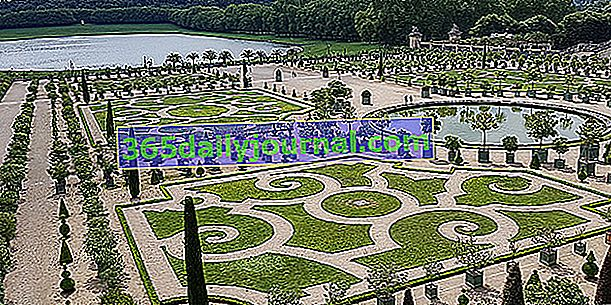 El jardín francés o jardín clásico