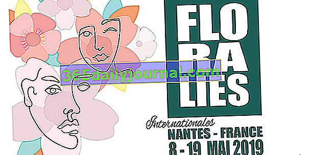 Floralies Internationales de Nantes от 8 до 19 май 2019 г.