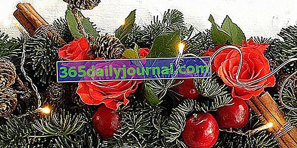 Naredite si svoje božične cvetlične aranžmaje