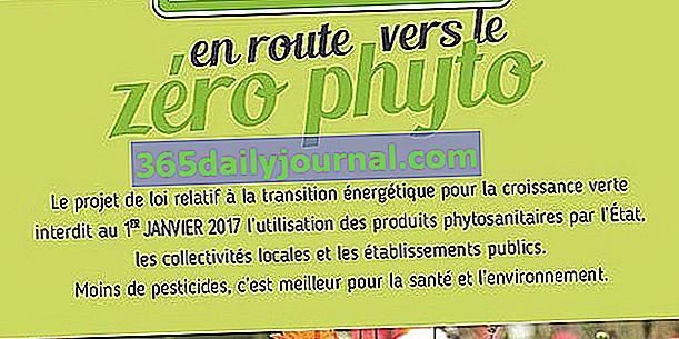 Nula pesticida u javnim prostorima od 1. siječnja 2017. godine