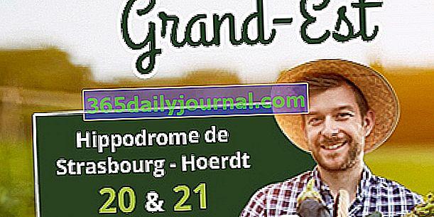 Salon Bio Grand Est 2017. na hipodromu Strasbourg-Hoerdt