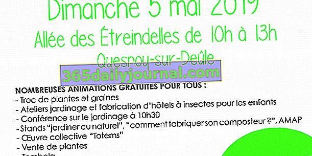 Barter za biljke i sjeme 2019. u Quesnoy-sur-Deûle (59)