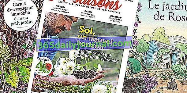 Skvělá jarní čtení o zahradnictví ...