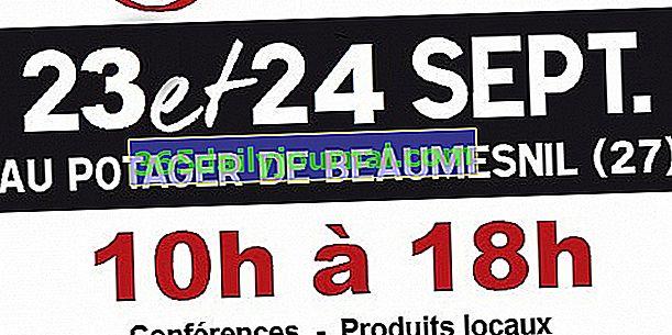 Festival de las 1001 verduras - décima edición en Mesnil-en-Ouche (27)