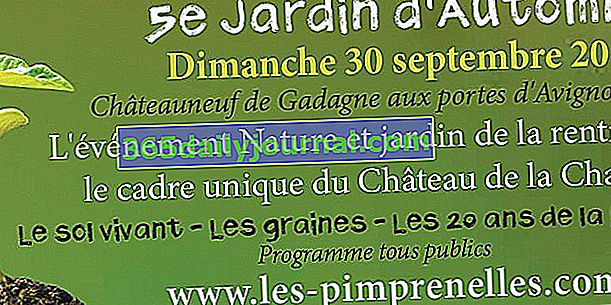 V edycja Jardin d'Automne w Châteauneuf-de-Gadagne (84)
