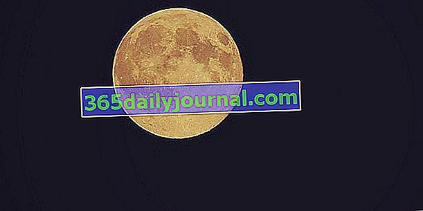 Червената луна: обяснения и календар 2019