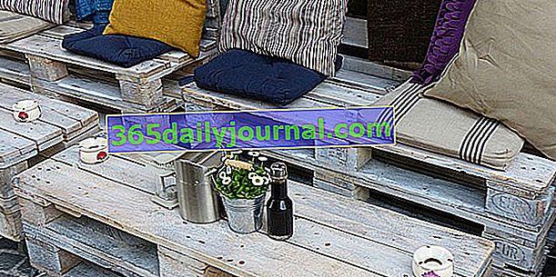 Jak vyrobit zahradní nábytek na paletách?