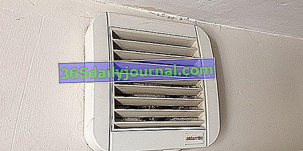 VMC, aireador, extractor de aire: ¿qué instalación para el baño?