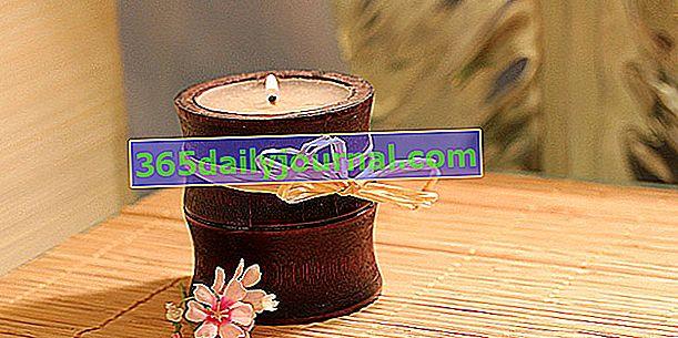 Cómo hacer una vela perfumada con aceites esenciales