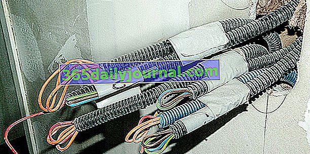 Čemu odgovara boja električnih žica? Koji je standard?
