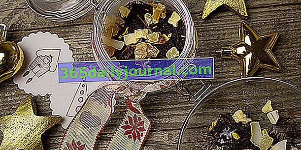 Napravite biljne čajeve i božićne čajeve: recepti