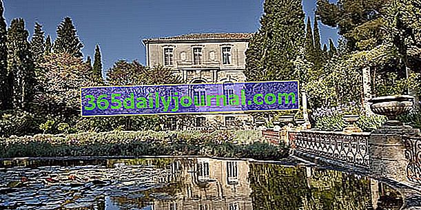 Vrtovi opatije Saint-André u Villeneuve-lès-Avignonu - Gard (30)